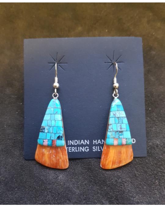 Ohrhänger aus dem Santo Domingo Pueblo