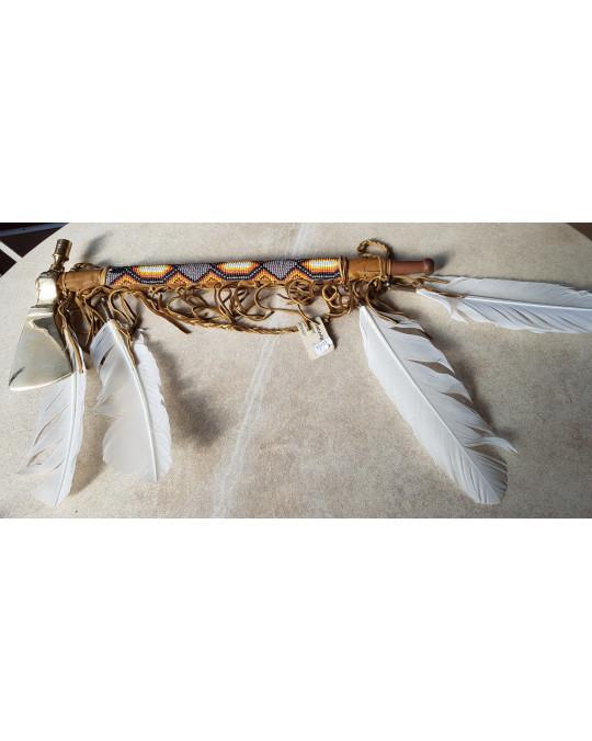 Tomahawk - Pfeifentomahawk aus Messing