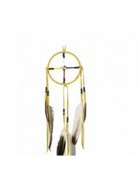 """Medizinrad """"4 Directions"""" aus Kanada, indianische Handarbeit"""