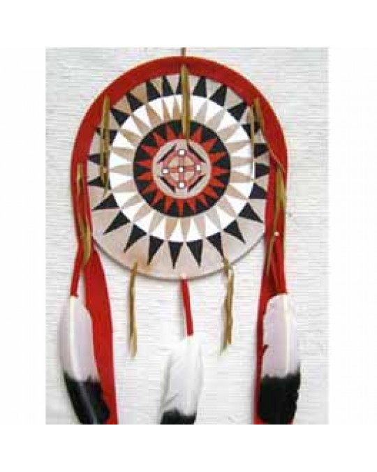 Black War Bonnet Design leichtes Schild