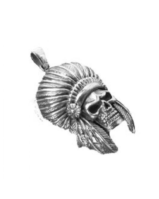 Skull- Anhänger, Schädel Häuptling
