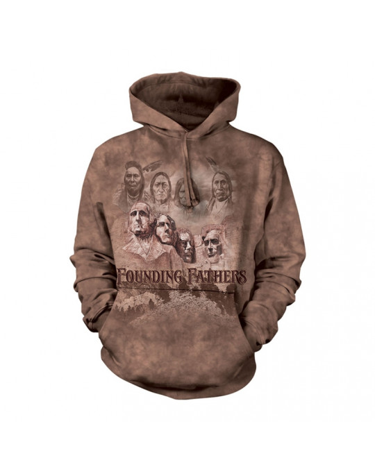 """The Founders"" Hoodie (Kapuzen-Sweatshirt) von The Mountain"