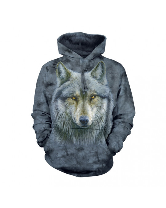 """Warrior Wolf""  Hoodie (Kapuzen-Sweatshirt) von The Mountain"